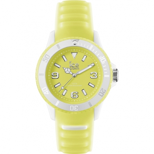 Unisex Midsize Ice Glow Yellow Watch