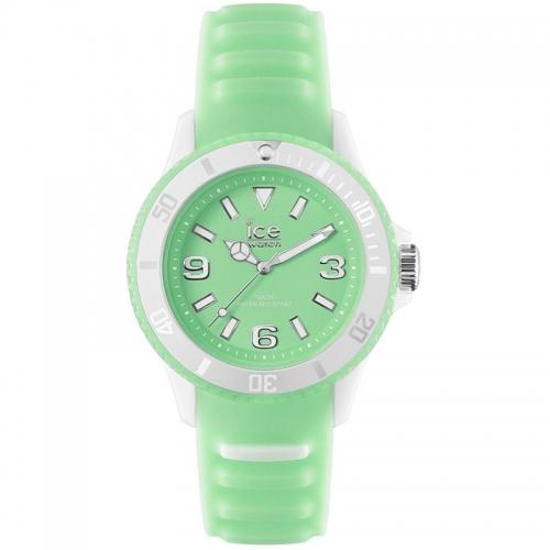 Unisex Midsize Ice Glow Green Watch