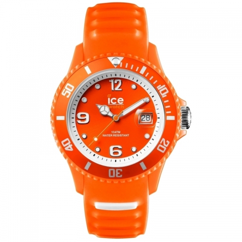 Unisex Ice Sunshine Neon Orange Watch