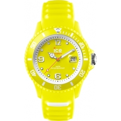 Unisex Ice Sunshine Neon Yellow Watch