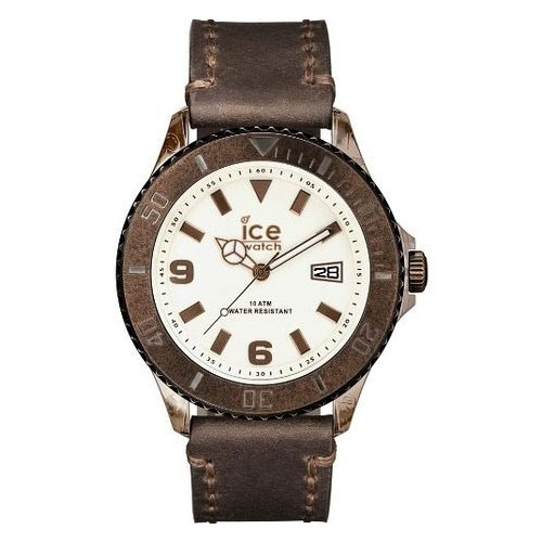 Brown Ice Vintage Watch