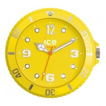 Yellow Ice Watch Wall Clock