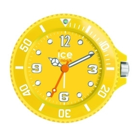 Yellow Ice Watch Travel Alarm Clock