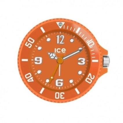 Orange Ice Watch Travel Alarm Clock