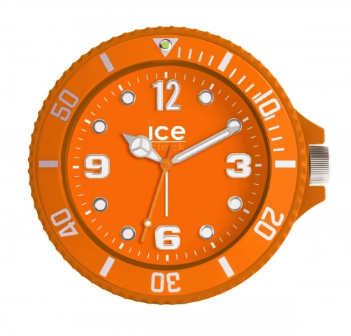 Orange Ice Watch Alarm Clock