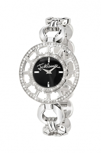 Just Cavalli Silver Multilogo Watch R7253176525