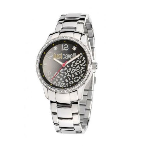 Just Cavalli Silver Huge Watch R7253127511