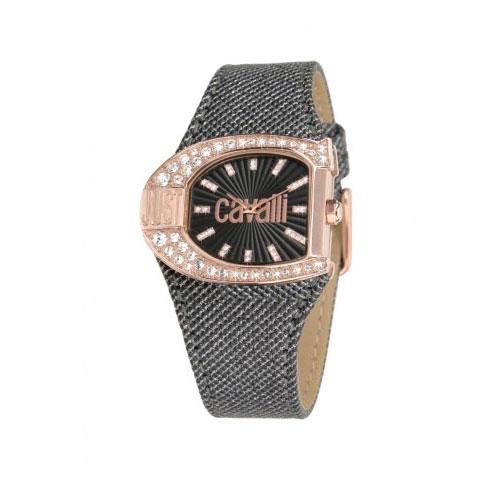 Just Cavalli Black Logo Watch R7251160506