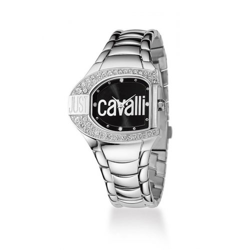 Just Cavalli Silver Logo Watch R7253160525