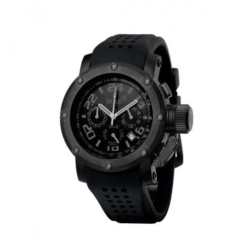 Max Black XL Chronograph Watch