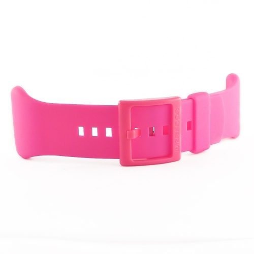 Wize and Ope Fluorescent Pink Exchangeable Strap ST-14