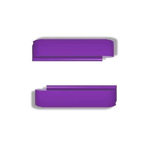 Wize and Ope Purple Exchangeable Plastic Slides SL0009