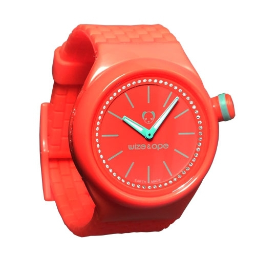 Wize and Ope Club  Red Shuttle Watch SH-CL-11S