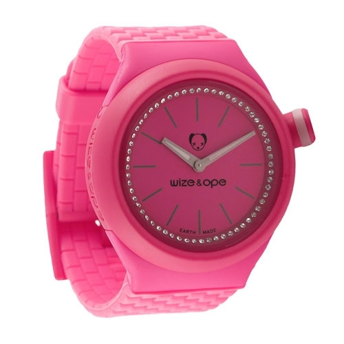 Wize and Ope Club  Pink Shuttle Watch SH-CL-5S
