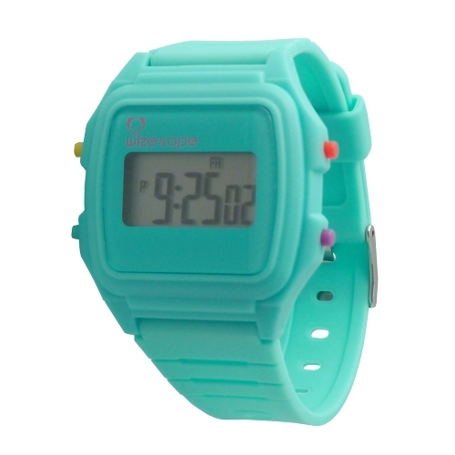 Wize and Ope Digital Treack Turquoise  Watch DT-8