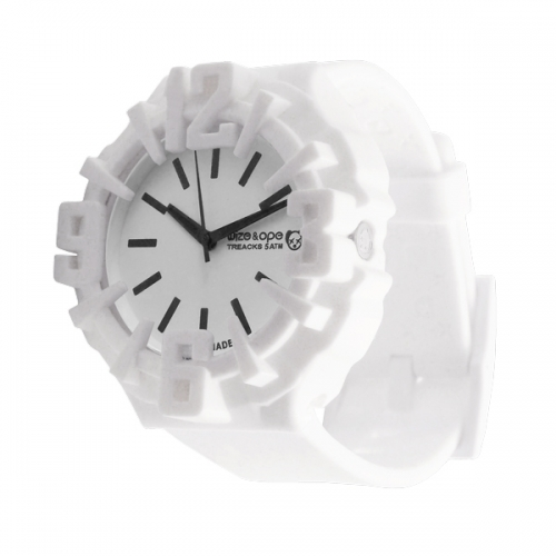 Wize and Ope Analogue Treack White Watch TR-1-C2