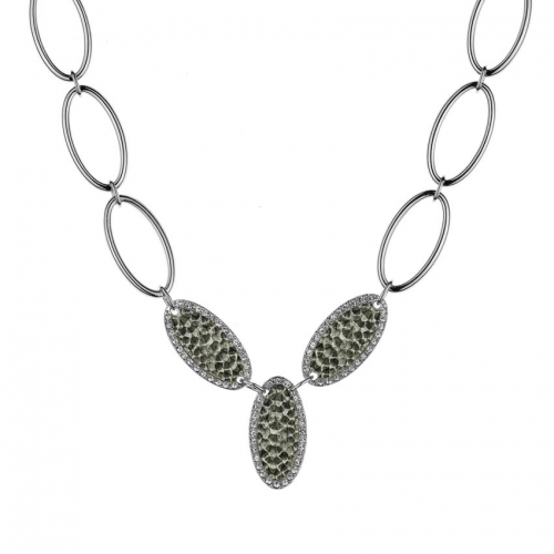 Nicky Vankets Snake Skin Necklace