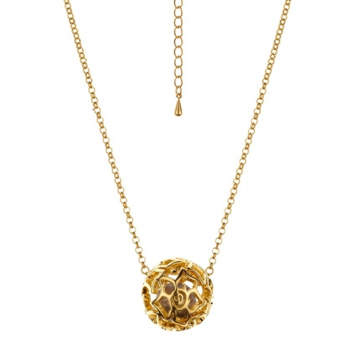 Nicky Vankets Logo Ball Necklace