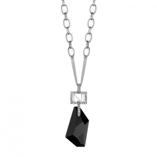 Nicky Vankets Black Pendant Necklace