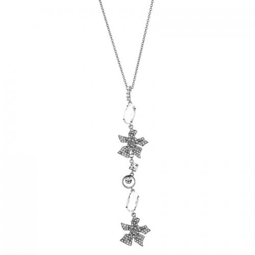 Nicky Vankets Double Flower Necklace