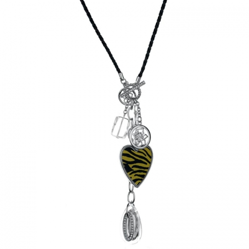 Nicky Vankets Leopard Heart Necklace