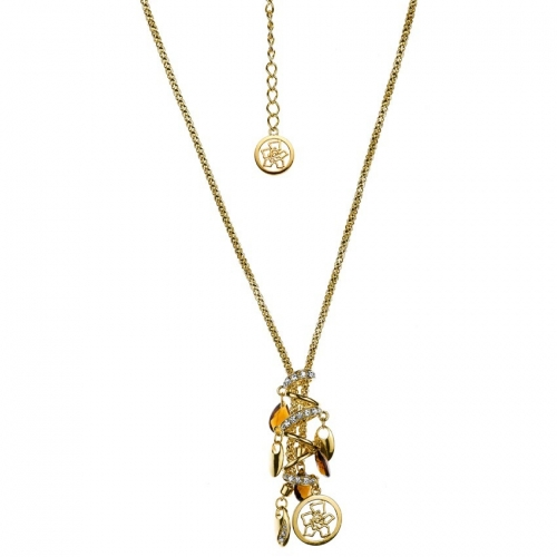 Nicky Vankets Gold Dangle Necklace
