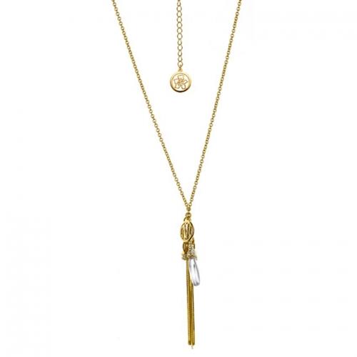 Nicky Vankets Long Pendant Necklace
