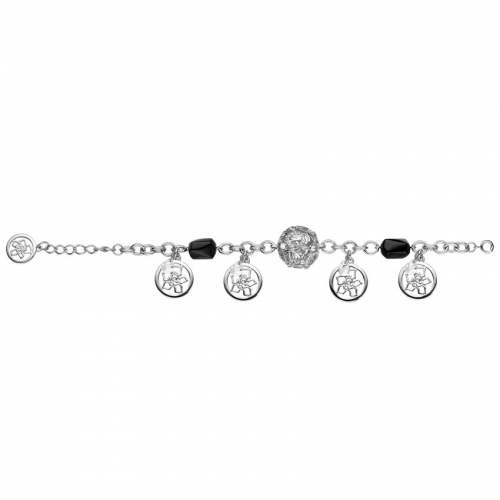 Nicky Vankets Logo Dangle Bracelet