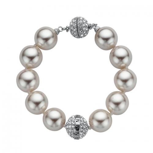 Nicky Vankets Shambala Pearl Bracelet