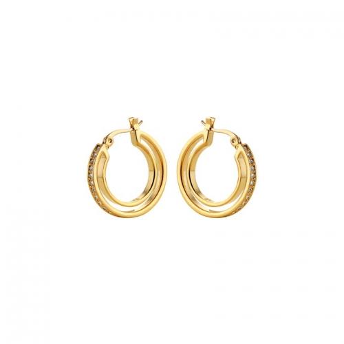 Nicky Vankets Gold Hoop Earrings