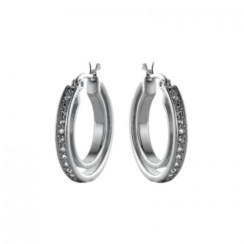Nicky Vankets Silver Hoop Earrings