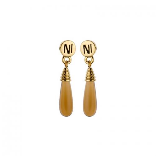 Nicky Vankets Glass Drop Earrings
