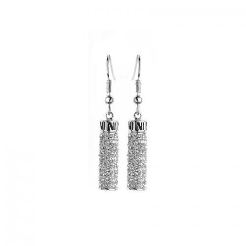 Nicky Vankets Silver Dangle Earrings