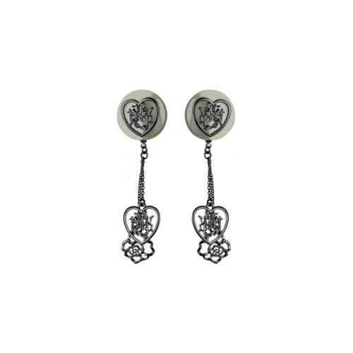 Nicky Vankets Cut-Out Dangle Earrings