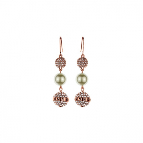 Nicky Vankets Rose CZ Dangle Earrings