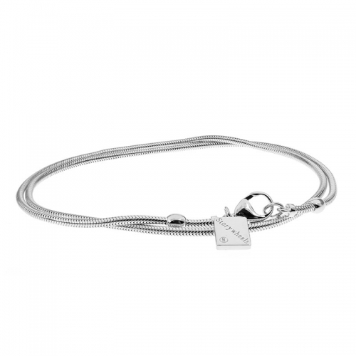 Storywheels Silver 40cm Necklace with Lobster Clasp N017S40