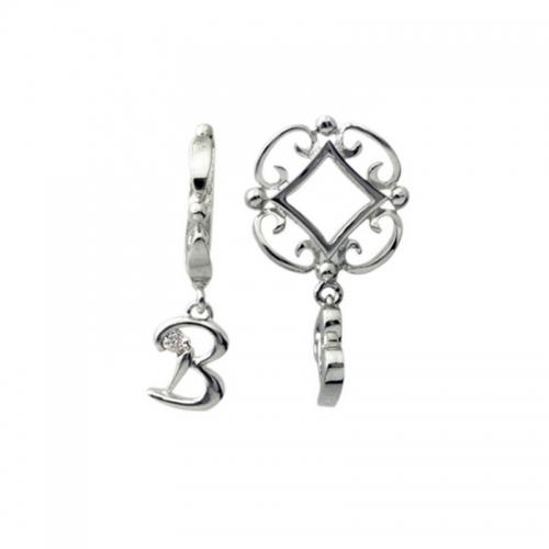 Storywheels Silver and Diamond Initial 'B' Wheel