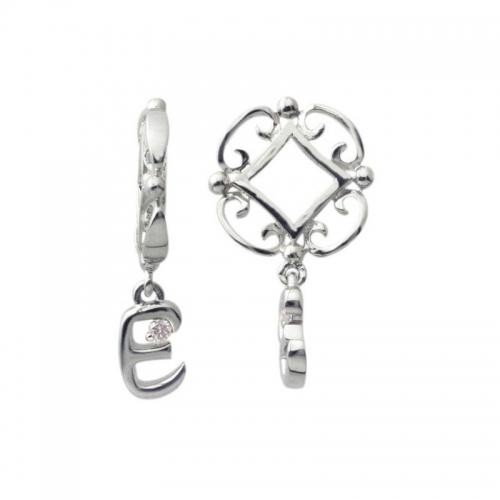 Storywheels Silver and Diamond Initial 'E' Wheel
