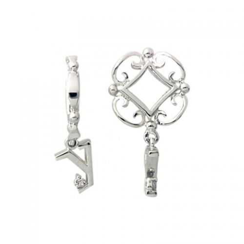 Storywheels Silver Y Initial Dangle Charm S224D