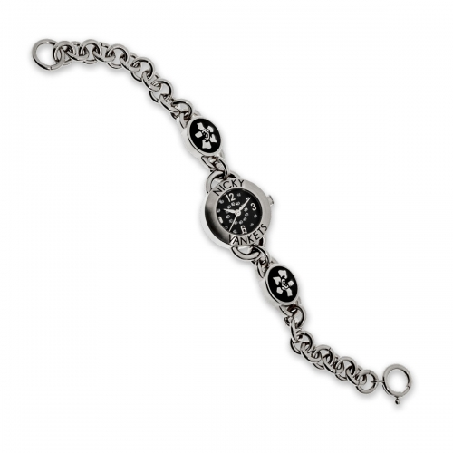 Nicky Vankets Silver Link Chain Watch