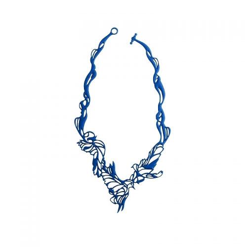 Batucada Skin Jewellery Blue Bird Necklace