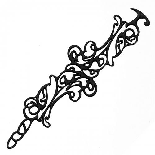 Batucada Skin Jewellery Black Baroco Bracelet
