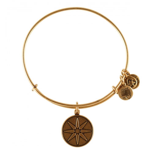 Alex and Ani Star of Venus Gold Bangle A12EB08RG