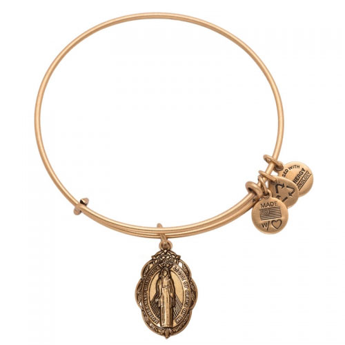 Alex and Ani Mother Mary Charm Bracelet