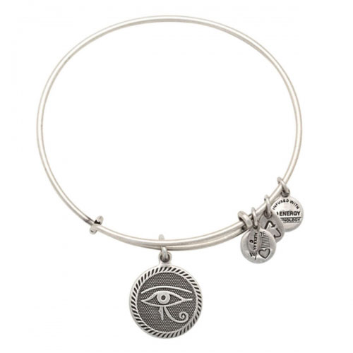 Alex and Ani Eye of Horus Silver Bangle A14EB75RS