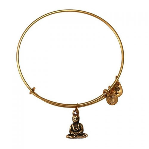 Alex and Ani Buddha Gold Bangle A11EB106RG