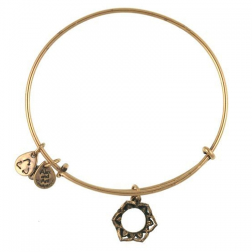 Alex and Ani Queen's Crown Gold Bangle A09EB134RG