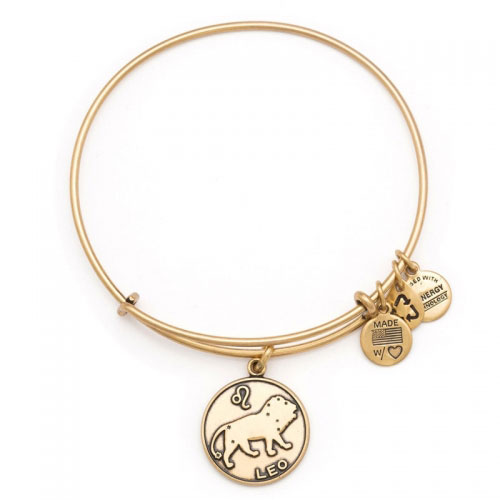 Alex and Ani Leo Gold Bangle A13EB01LERG