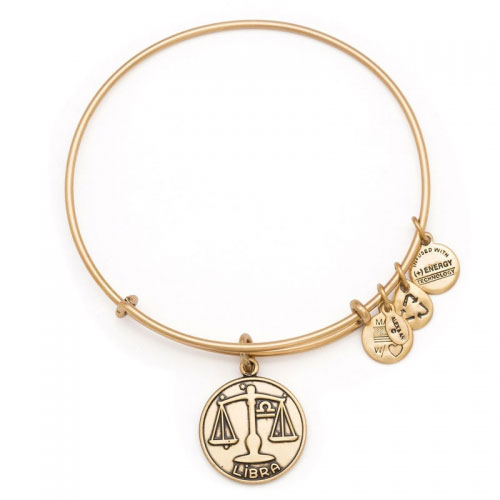 Alex and Ani Libra Gold Bangle A13EB01LIRG