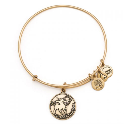 Alex and Ani Sagittarius Gold Bangle A13EB01SARG